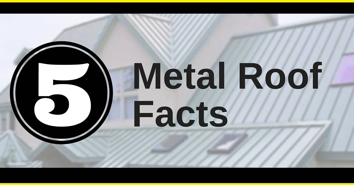 metal roof facts by yellowhammer roofing